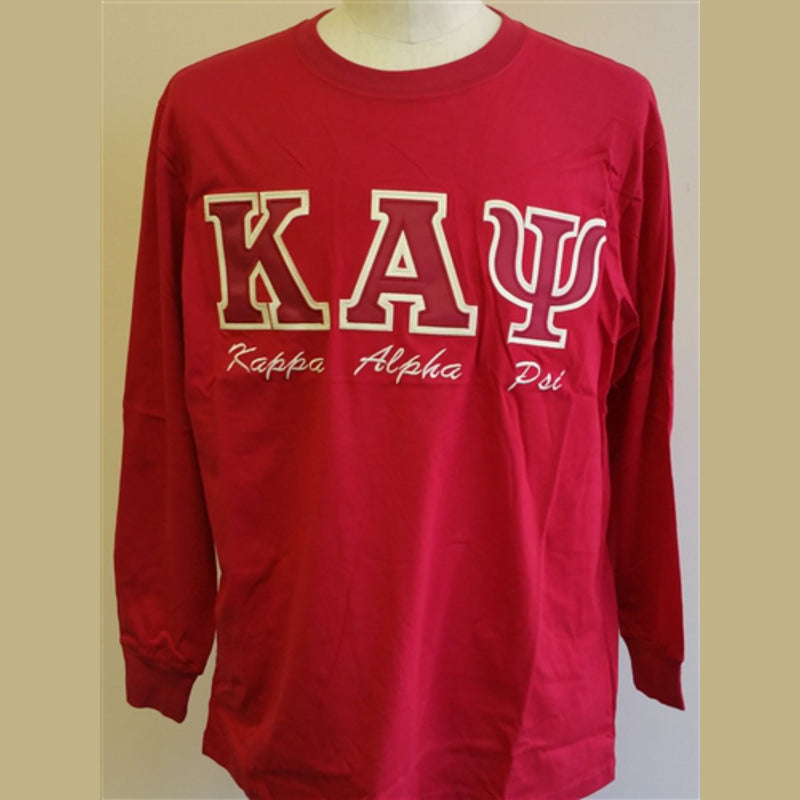 Kappa Embroidered Letters with script T-shirt BD Long Sleeves
