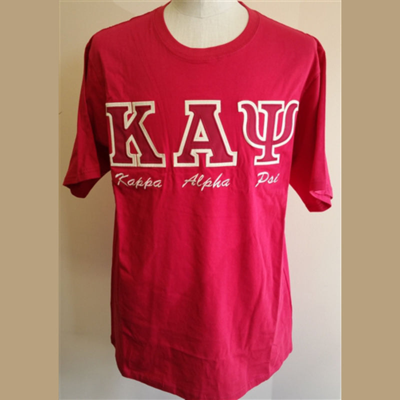 Kappa Embroidered Letters with script T-shirt BD