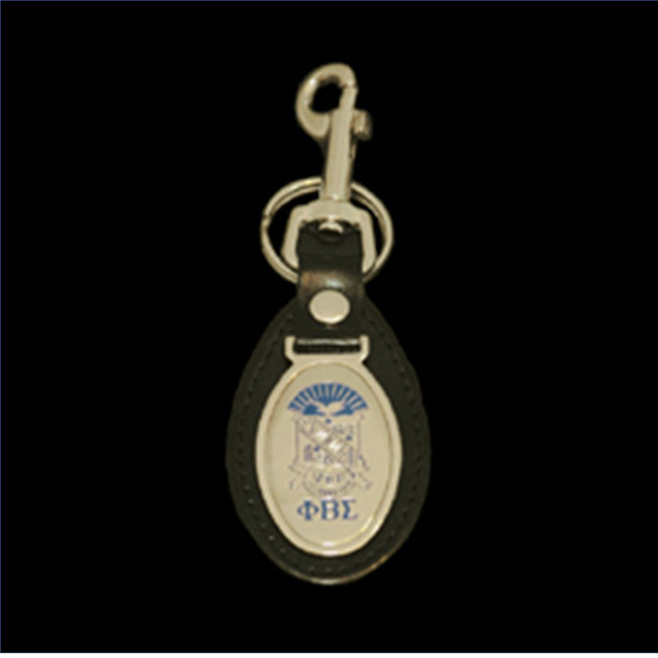 Sigma Leather Fob Key Chain