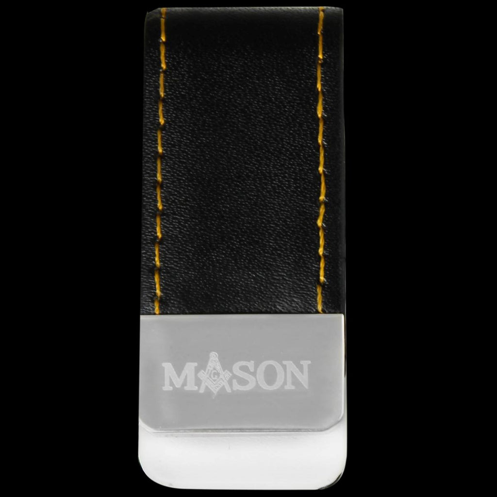 Mason Leather Money Clip holder