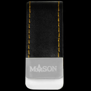Leather Money Clip holder - Mason
