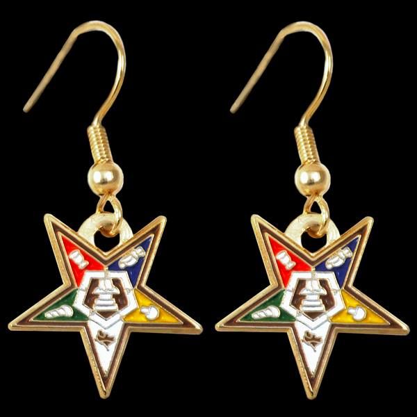 OES Star Earrings