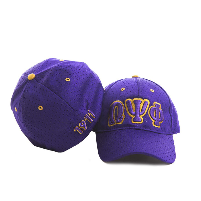 Embroidered Flexfit Cap - Omega