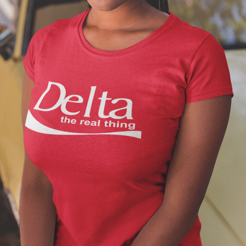 Delta the real thing T-shirt