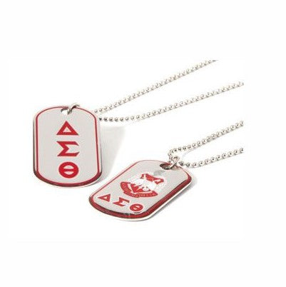 Reversible Dog Tag Necklace - Delta