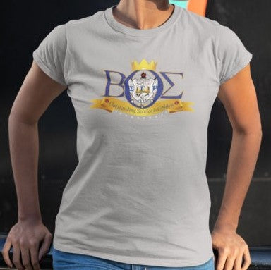 Shield T-shirt - SGRho BOS