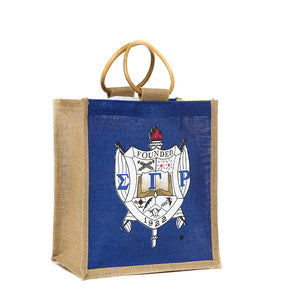 SGRho Mini Jute Bag with Shield