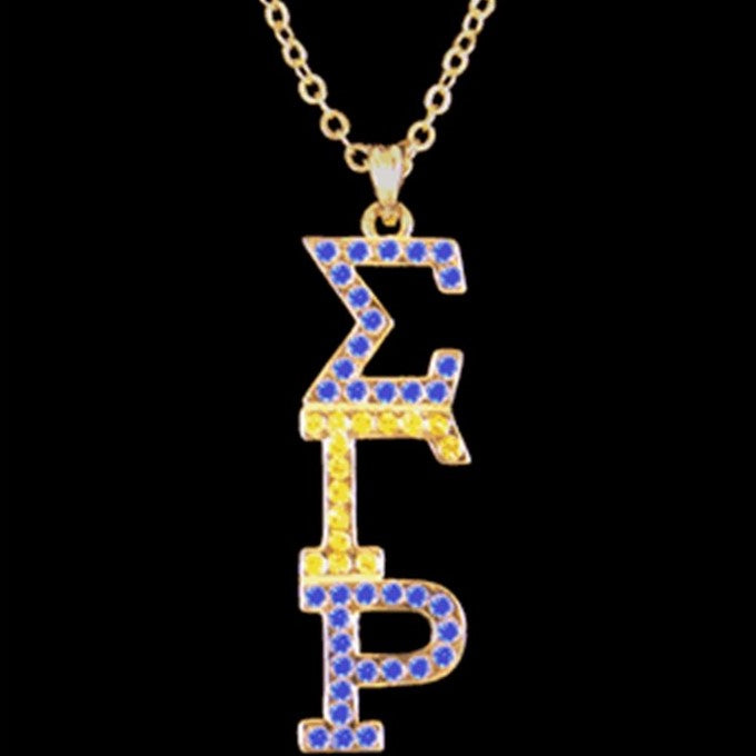 SGRho Austrian Crystal Pendant Necklace