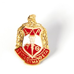 Delta Shield Lapel Pin