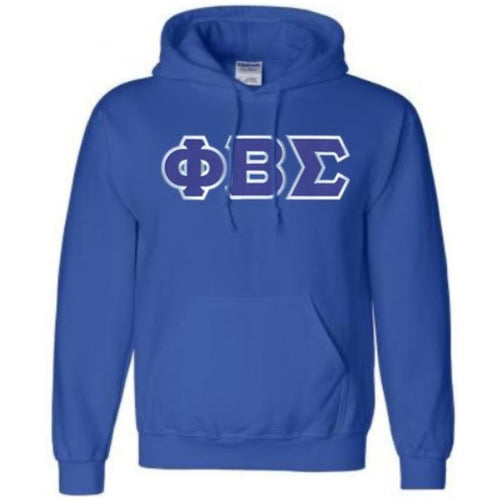 Sigma Embroidered Letters Hoodie
