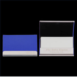 Sigma Business Card Holder