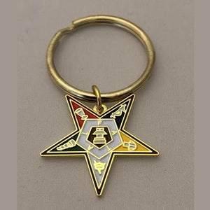 OES Shield Key Chain