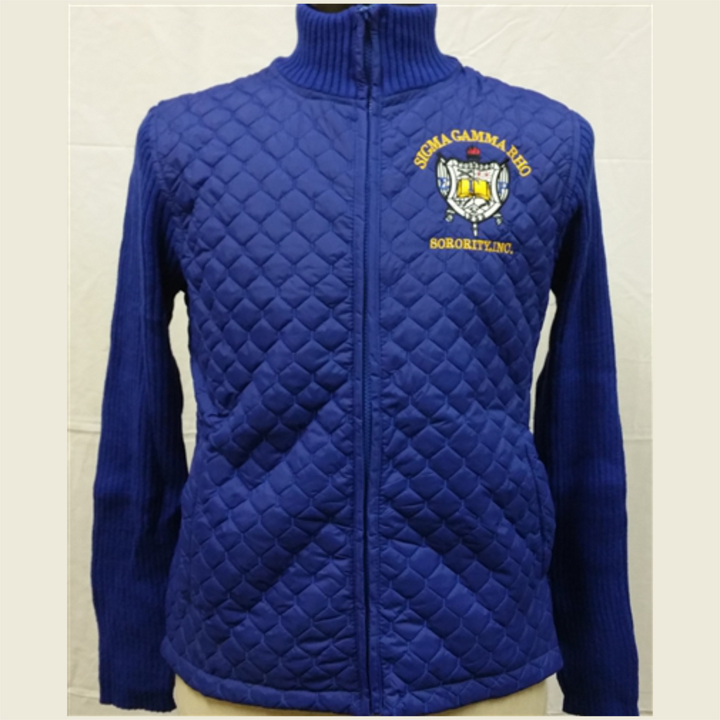 Quilt Sweater Jacket - SGRho