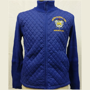 SGRho Quilt Sweater Jacket