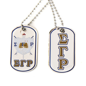 SGRho Reversible Dog Tag Necklace