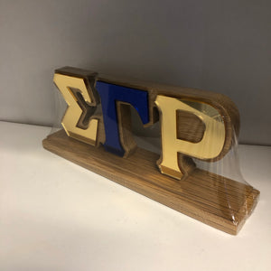 Desk Top Letters - SGRho