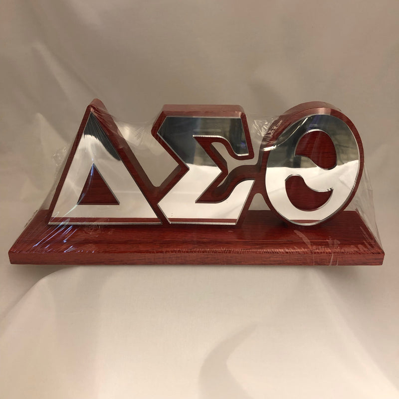 Delta Desk Top Letters with Color Base