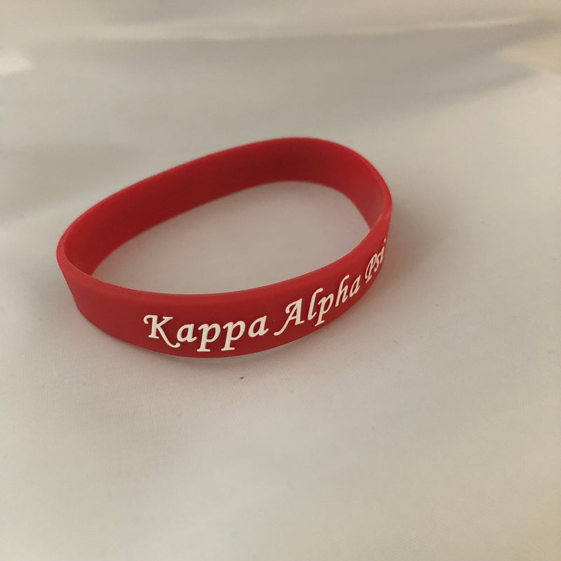 Silicone Embossed Band - Kappa