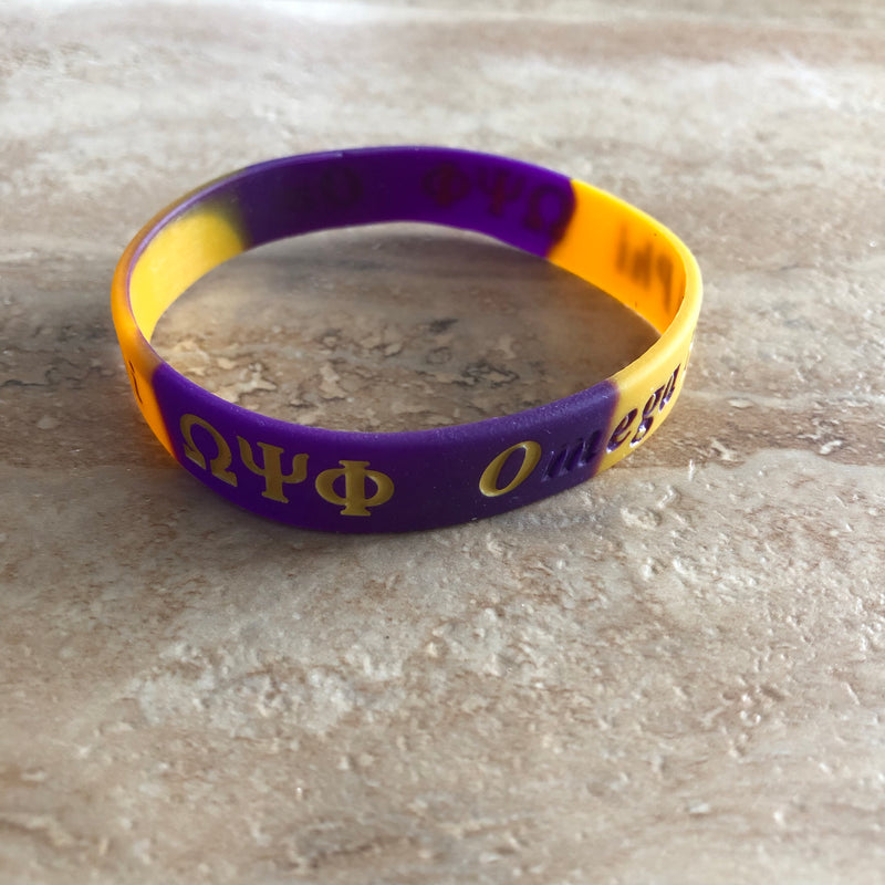 Omega Silicone Tie Dye Band