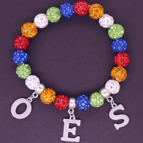 OES Bling Beaded Bracelet