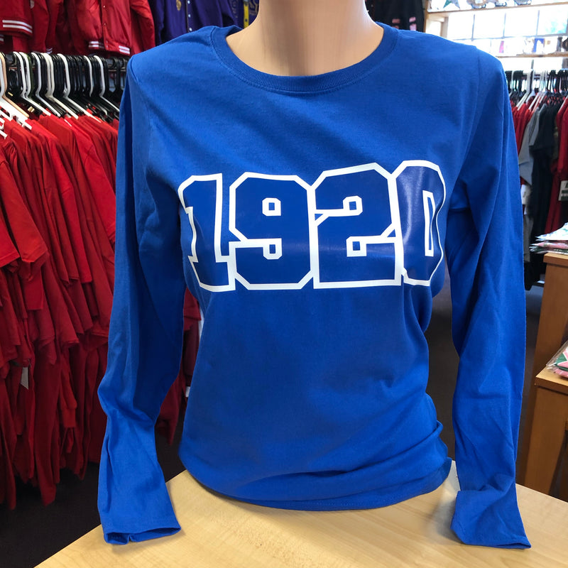 Zeta 1920 Long Sleeves T-shirt