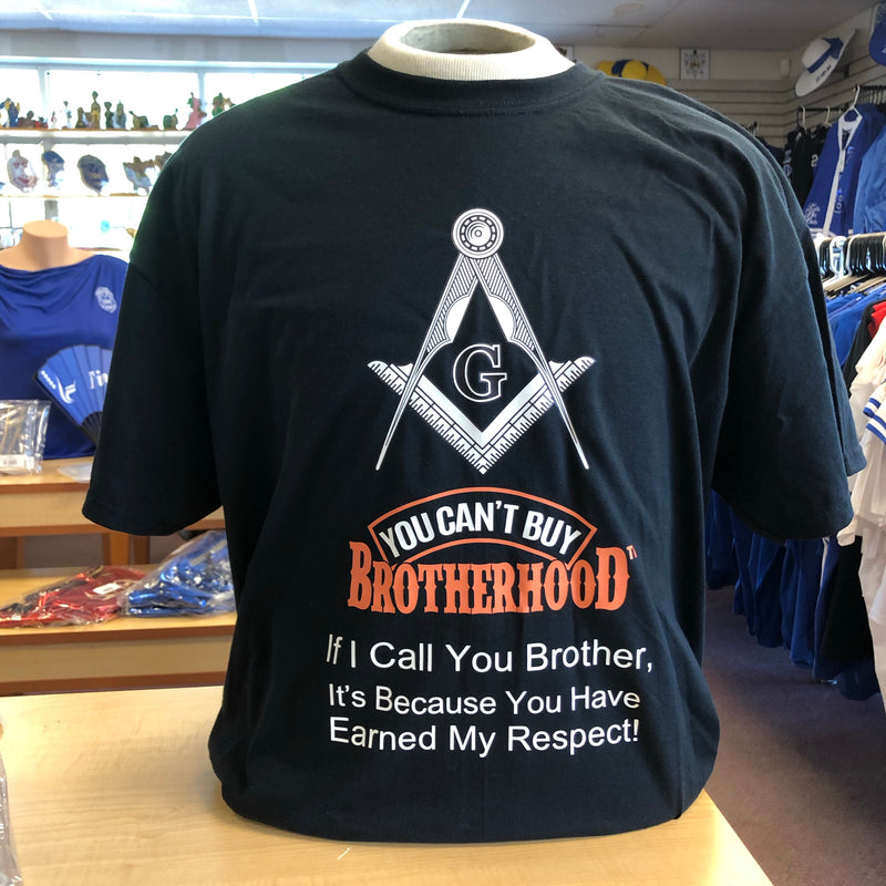 Mason You Can't Buy Brotherhood T-shirt