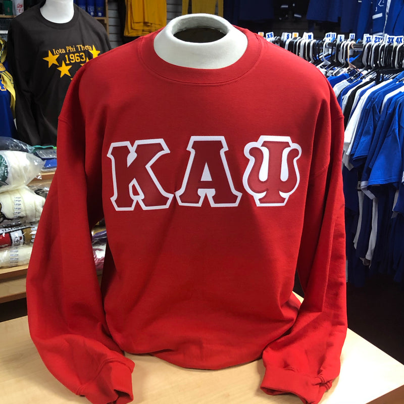 Kappa Embroidered Letters Sweatshirt DS