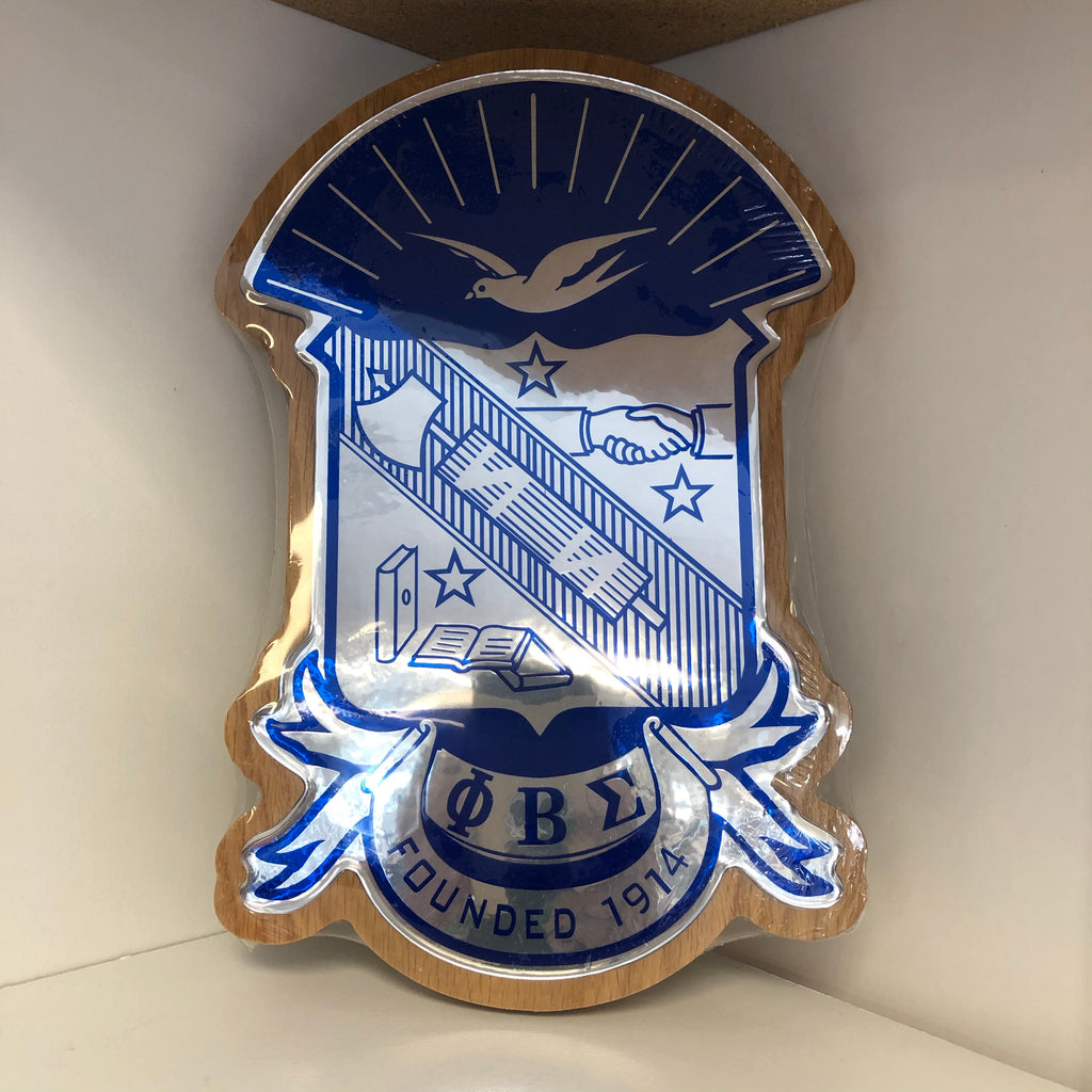 Sigma Domed Crest Plaque