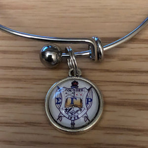 Stack Charm Bangle Bracelet - SGRho