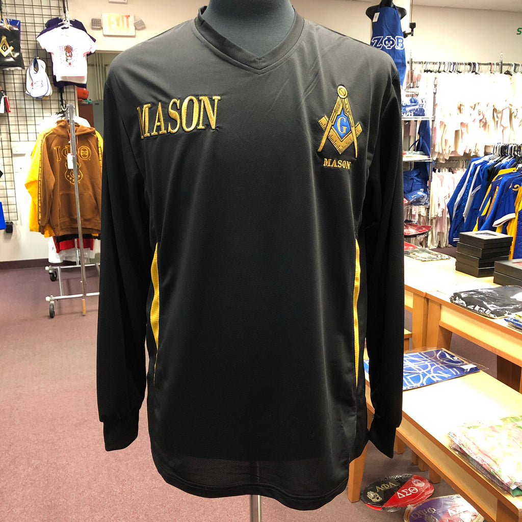 Mason Long Sleeves Dri Fit V-Neck