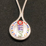 OES Button Necklace