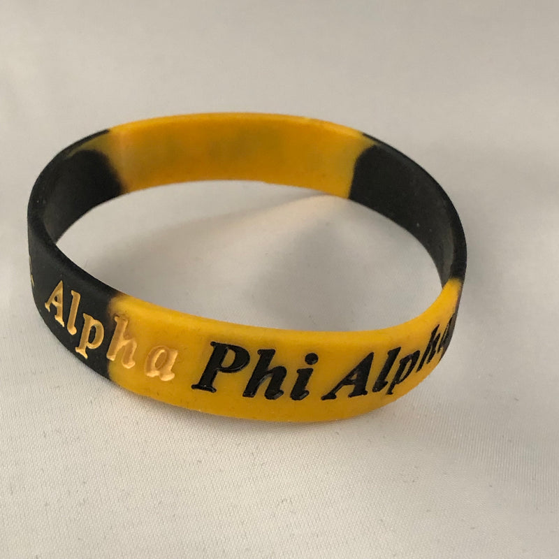 Alpha Silicone Tie Dye Band