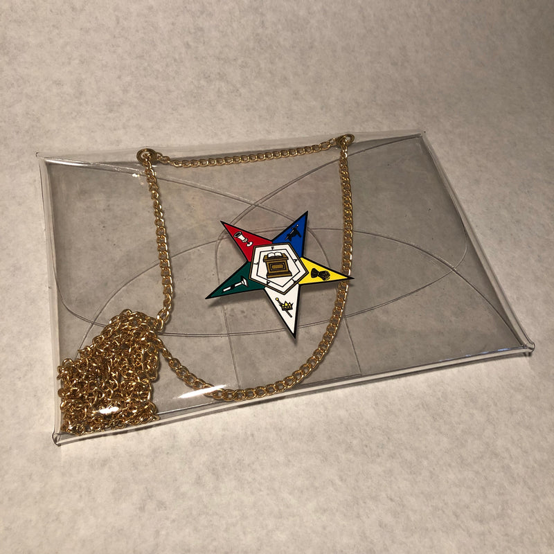 OES Clear Chain Stadium Bag