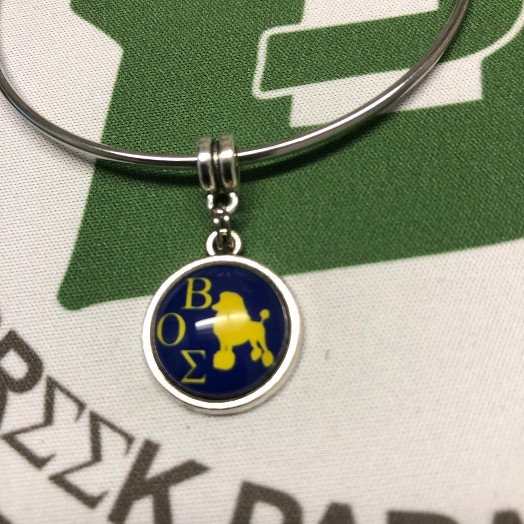 Stack Charm Bangle Bracelet - SGRho BOS