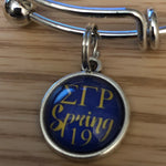 SGRho Stack Charm Bangle Bracelet