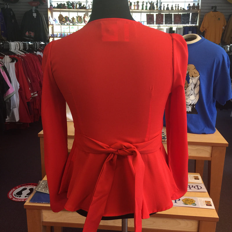 Delta Red Blouse