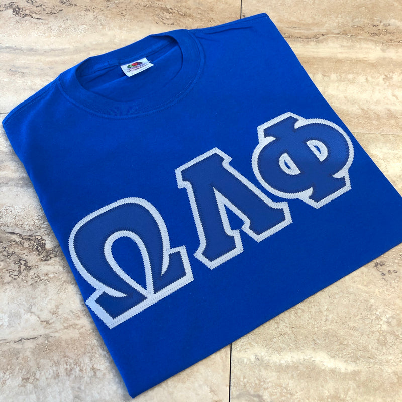OLP Embroidered Letters T-shirt