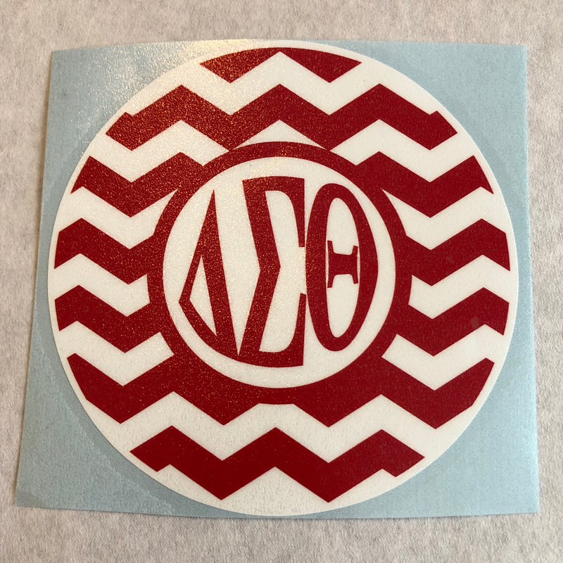 Chevron Window Decal - Delta
