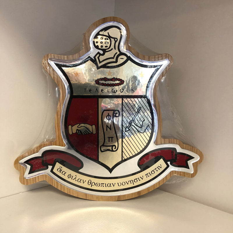 Kappa Domed Crest Plaque
