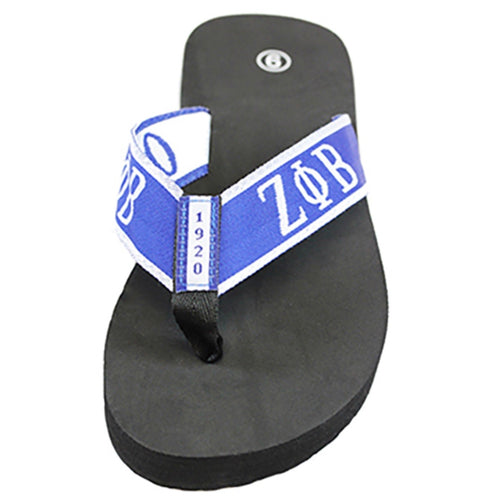 Zeta Flip Flops with Satin Shoe Bag