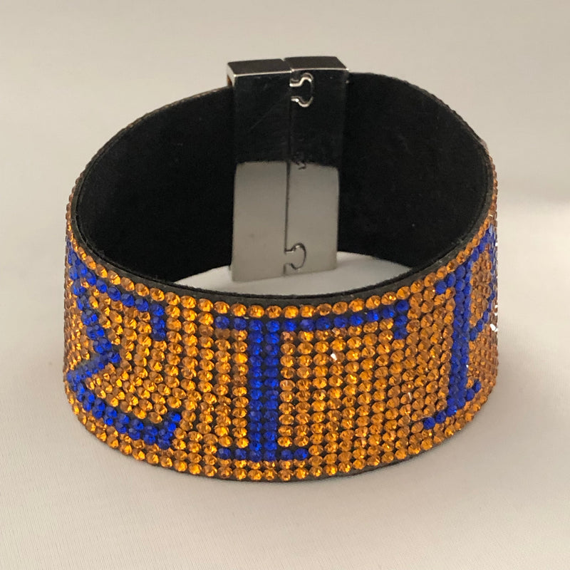 Austrian Crystal Bracelet with Magnet Closure - SGRho