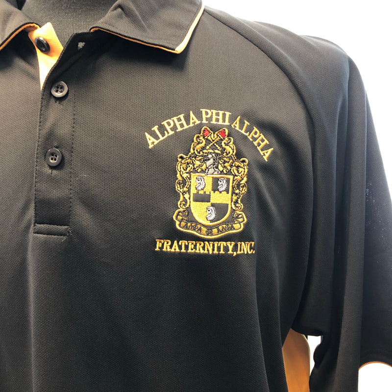 Alpha Short Sleeves Polo Dri Fit BD