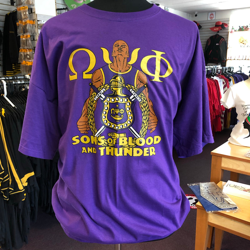Omega Sons of Blood & Thunder too T-shirt