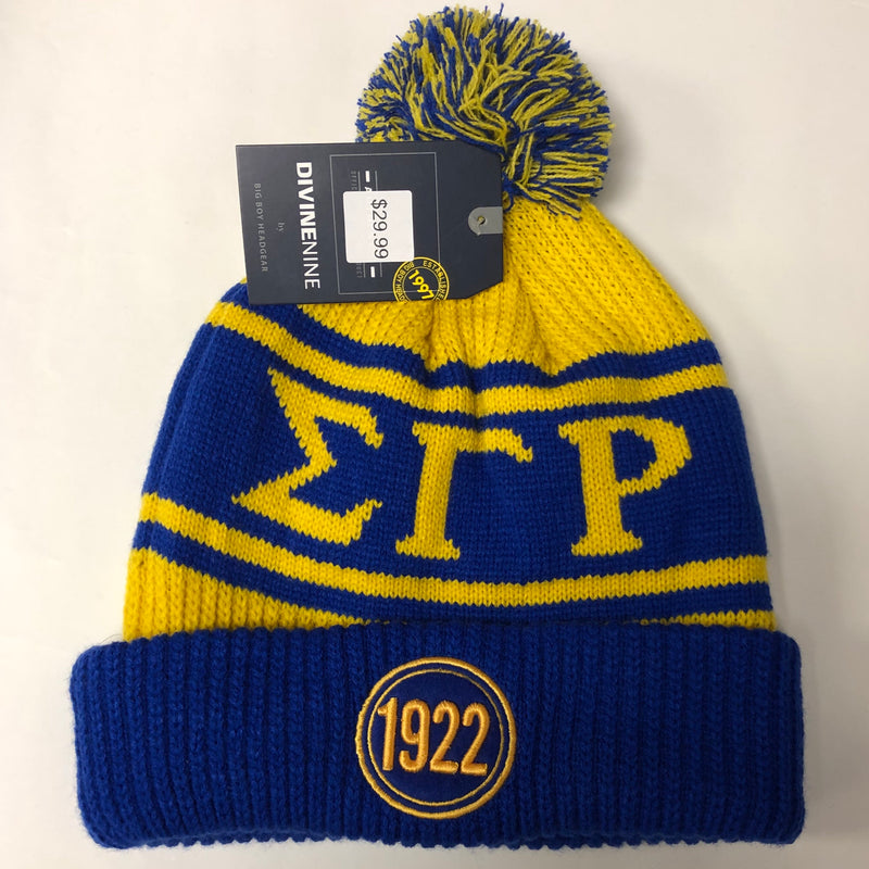 SGRho Skull Cap with Ball Thick