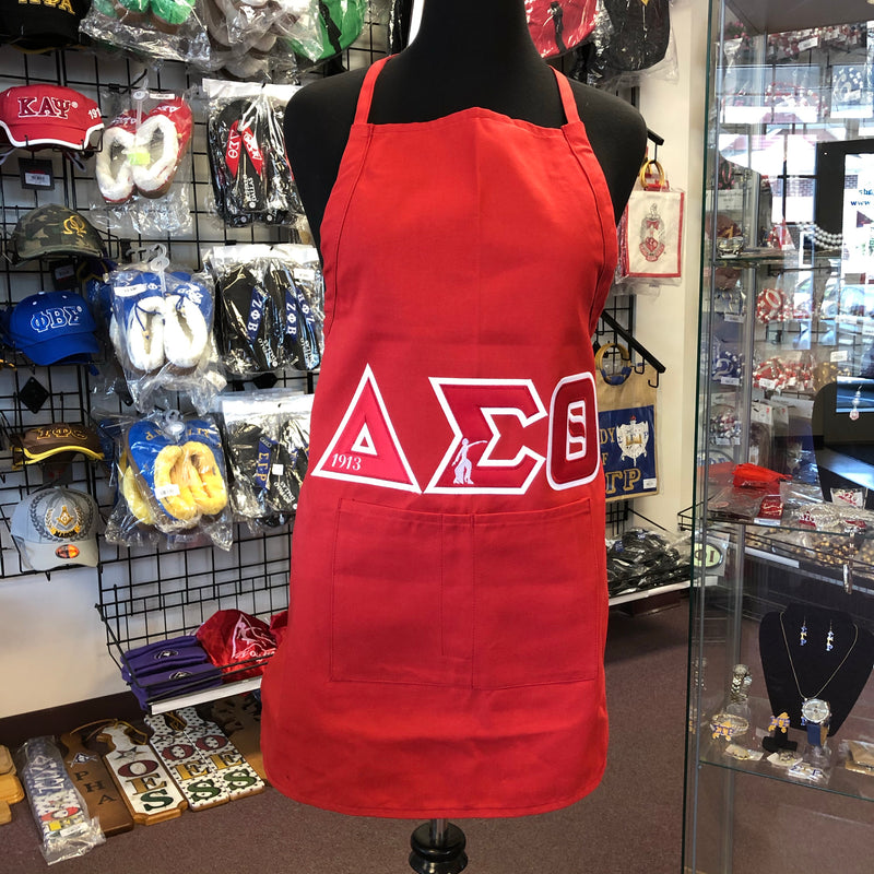 Delta Apron with Pockets