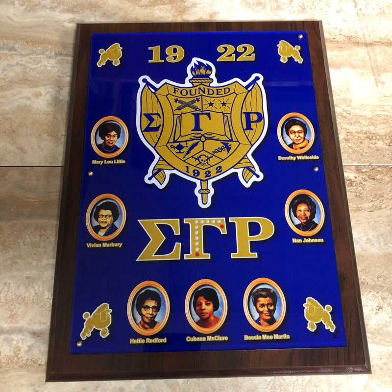 SGRho Wall Plaque Founder