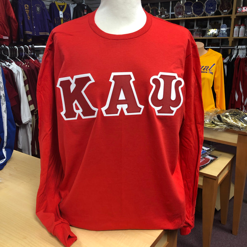 Kappa Embroidered Long sleeves Letters T-shirt DS