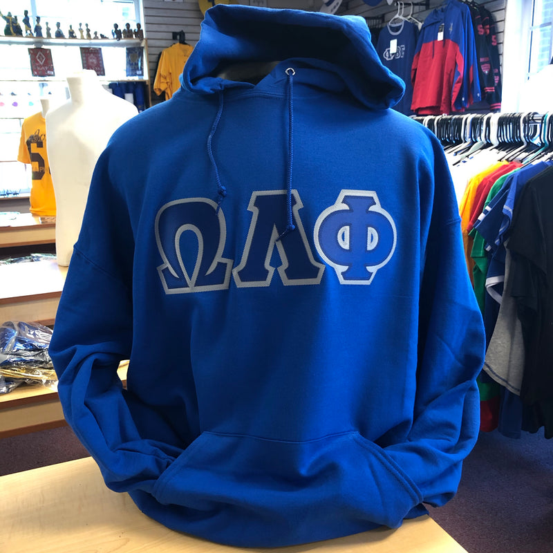 OLP Embroidered Letters Hoodie