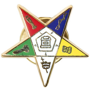 Shield Lapel Pin - OES