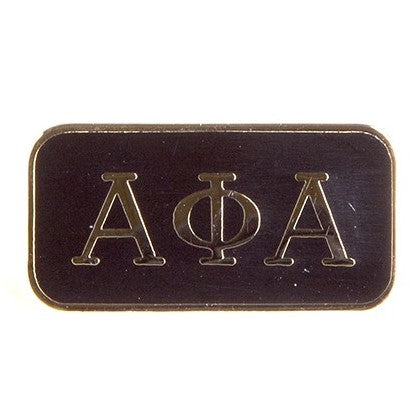 Alpha 3 Letter Lapel Pin